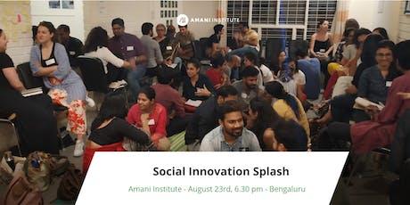 Social Innovation Splash tickets