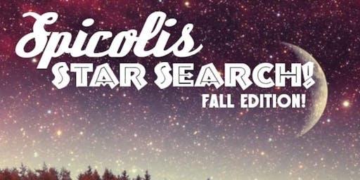 Spicoli's Star Search - Round 1 Night 1