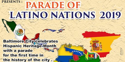 Parade of Latino Nations & Community Cultural Event