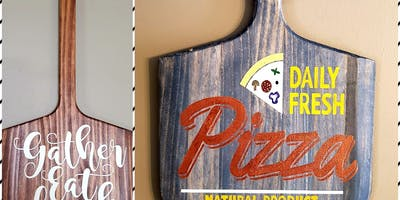 Pizza Peel with Didonna Crafts