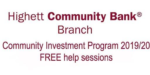 Highett Community Bank Branch - Help Session Two
