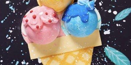 3D Ice Cream Craft Session tickets