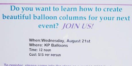Balloon Basics tickets