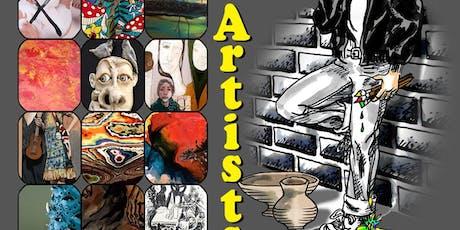 ART SHOW - Delinquent Matters tickets