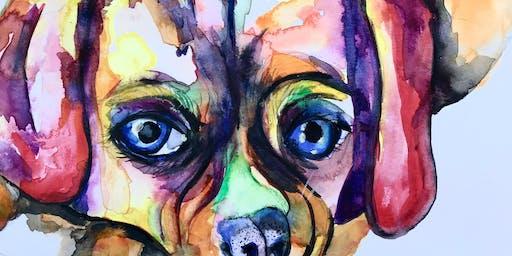 Watercolour Pet Portraits