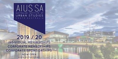 AIUS SA 2019 /20 Memberships and Sponsorships