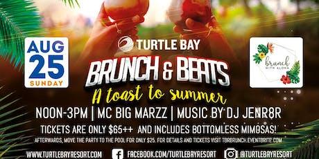 Brunch & Beats - A Toast to Summer tickets