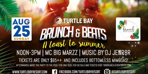 Brunch & Beats - A Toast to Summer