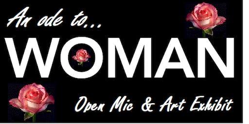 Ode to Woman - an Open Mic & Art Exhibit