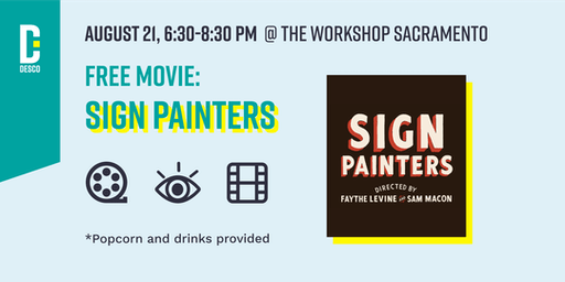 Free Movie Night: Sign Painters