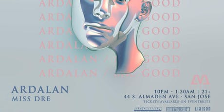 Ardalan Mr. Good Tour at LVL44, November 27th tickets
