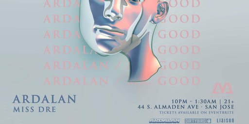 Ardalan Mr. Good Tour at LVL44, November 27th