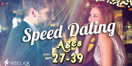 Speed Dating & Singles Party | ages 27-39 | Hobart tickets