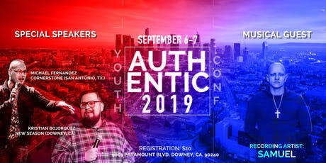 Authentic 2019 Youth Conference  tickets