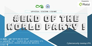 End of the world party!