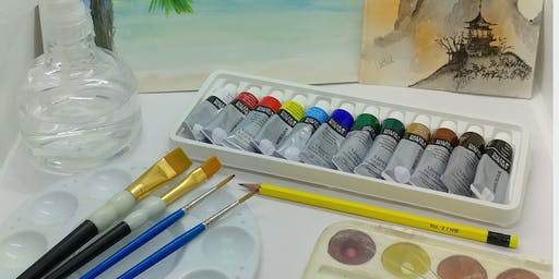 Acrylic's Painting for Beginners By Creatively Carrie