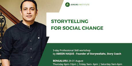 Open session: Storytelling For Social Change tickets