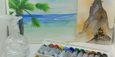 Watercolor Painting for Beginners with Creatively Carrie
