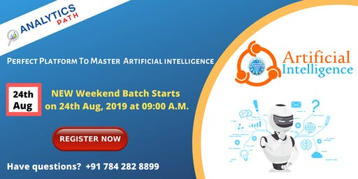 Register for Free High Informative AI New Weekend Batch from 24th Aug @ 9am