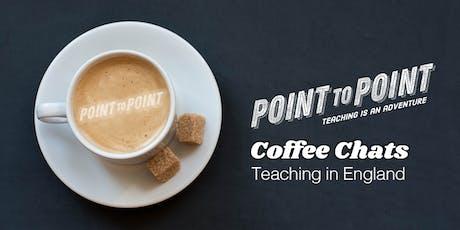 Tasmania Coffee Chats - Teaching in England  tickets