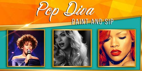 POP DIVA - Paint and Sip tickets