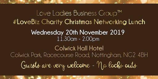 Nottingham #LoveBiz Christmas Networking Lunch Event