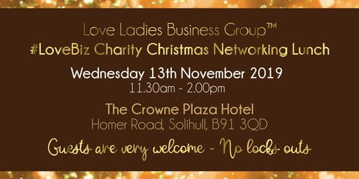 Solihull #LoveBiz Christmas Networking Lunch Event