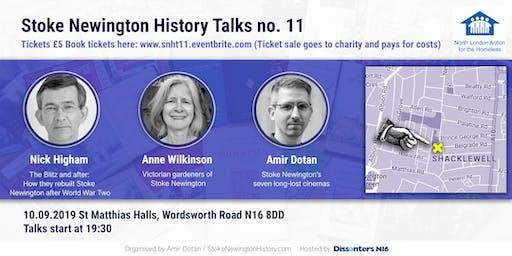 Stoke Newington History Talks no. 11: Cinemas, Post-WW2 rebuild and Victorian gardeners
