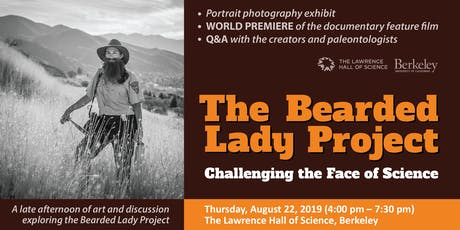 The Bearded Lady Project: Challenging the face of Science tickets
