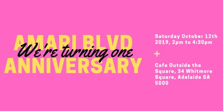 Amari Blvd Boutique's Anniversary tickets