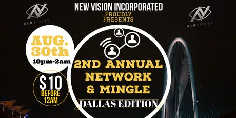 2nd Annual Network & Mingle  tickets