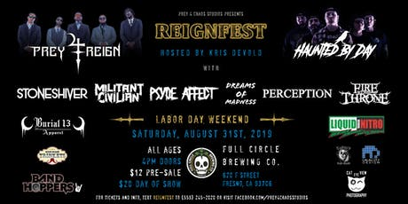 ReignFest @ Full Circle Brewing Co. tickets