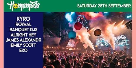 Homemade Saturdays - 28th September 2019 tickets