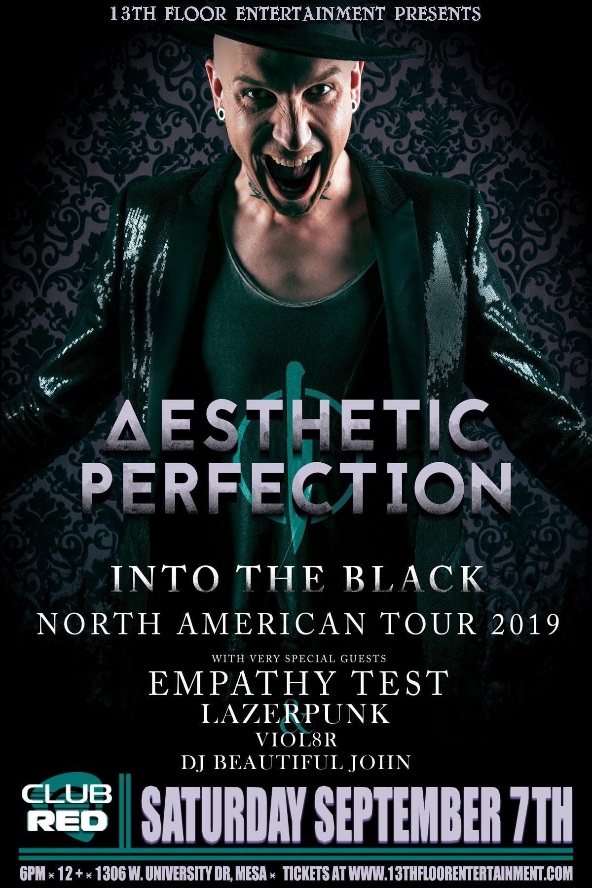 Aesthetic Perfection / Empathy Test / Lazer Punk / Viol8R