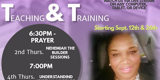 T & T Thursday Evening Teaching & Ministry Training