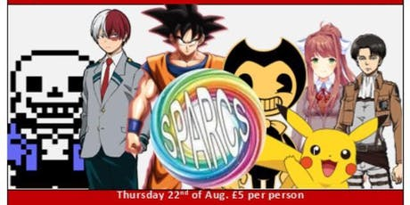 SPARCS Mini Anime Con tickets