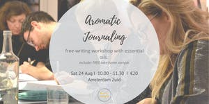 Attune to You: Aromatic Journaling with Essential Oils