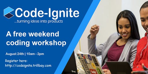 Code-Ignite  Weekend Introductory Coding Workshop