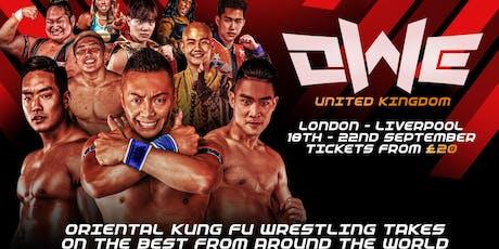 OWE United Kingdom - Liverpool Day 1 tickets