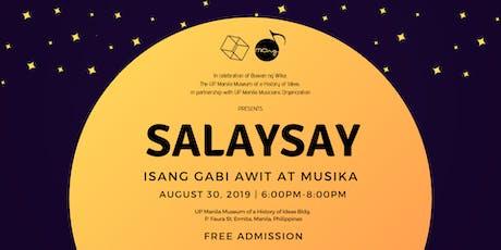 SALAYSAY: Isang Gabi ng Awit at Musika tickets
