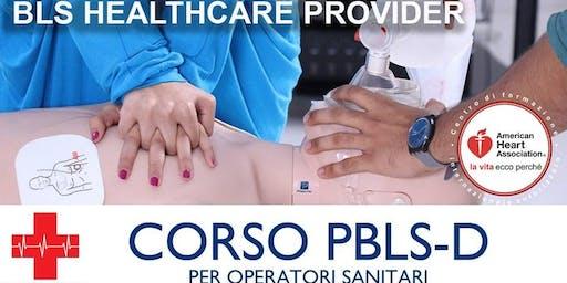 Corso BLS per operatori sanitari +  20 ECM