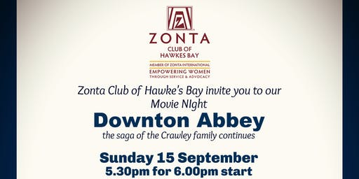 Zonta Movie Night Downton Abbey