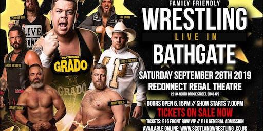 Live Family Wrestling - Bathgate Feat. GRADO