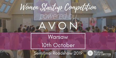 Women Startup Competition powered by Avon in Warsaw 2019 tickets