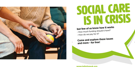 October meetup: Adult social care is in crisis! tickets