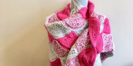 Wavy Winter Wrap - Crochet Workshop tickets