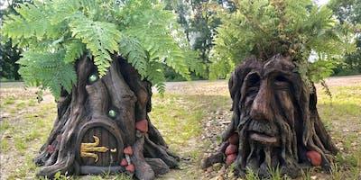 Tree Stump Planters! - Full day Pal Tiya Sculpture Workshop