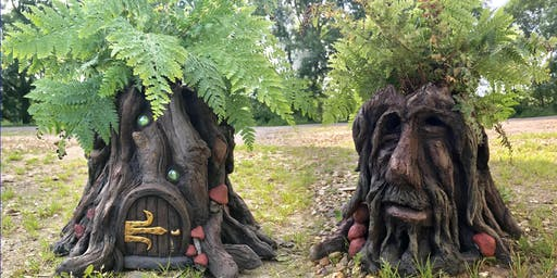 Tree Stump Planters! - 1 day Sculpture Workshop using Pal Tiya Premium