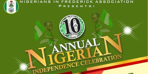 10th Annual Nigerian Independence Day Celebration
