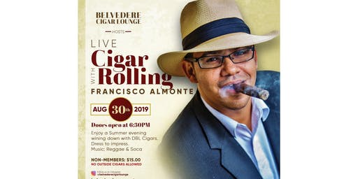 Live Cigar Rolling With Francisco Almonte